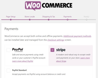Stripe - WooComemrce payments